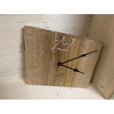 Designer Uhr mit weißen Zahlen