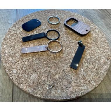 Individuelle Schlüsselanhängerchen Metall